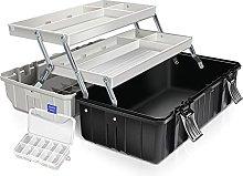 Tool Case Organizer Tool box with 3-layer Folding