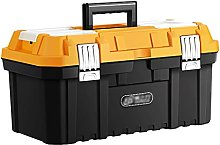 Tool Case Organizer Tool Box with Handle and Lock