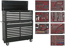 Tool Chest Combination 23 Drawer - Black with