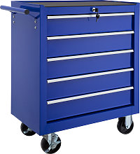 Tool chest with 5 drawers - blue