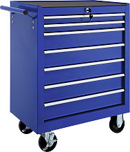 Tool chest with 7 drawers - blue