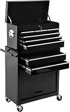 Tool chest with 8 drawers - black