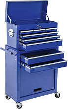 Tool chest with 8 drawers - blue