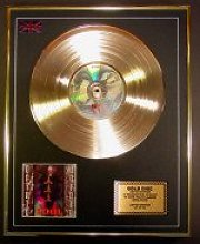 TOOL/LTD. EDITION CD GOLD DISC/GOLD RECORD/OPIATE