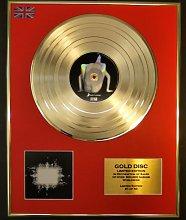 TOOL/LTD. EDITION CD GOLD DISC/RECORD/AENIMA