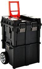 Tool Organiser Trolley with Handle 46x36x41 cm