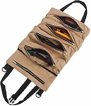 Tool Roll Foldable Tool Bag Carrier Organizer