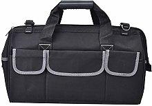 Tool Tote Bag, Gray Tool Storage Bag, Oxford Cloth
