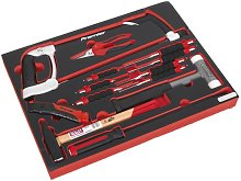 Tool Tray with Hacksaw Hammers & Punches 13pc -