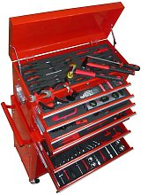 Tool Trolley with Tools 7 Layers VD04483 - Hommoo
