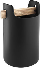 Toolbox Pot - / Ø 18 x H 20 cm - Ceramic & oak by