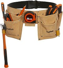 Toolpack Double-Pouch Tool Belt Hobby Leather
