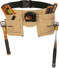 Toolpack Double-Pouch Tool Belt Leather Regular