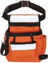 Toolpack High-Visibility Single-pouch Tool Belt