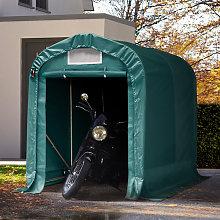 TOOLPORT 1.6x2.4m Carport Tent / Portable Garage,