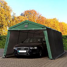 TOOLPORT 3.3x6.2m Carport Tent / Portable Garage,