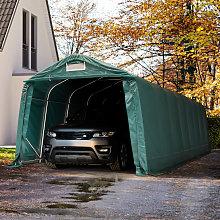 TOOLPORT 3.3x9.6m Carport Tent / Portable Garage,