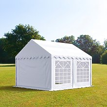 TOOLPORT 3x3m Marquee / Party Tent, PVC 500 fire