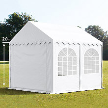 TOOLPORT 3x4m Marquee / Party Tent w. Groundbar,