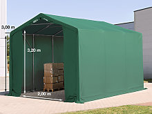 TOOLPORT 3x6m - 3.0m Sides Industrial Tent with