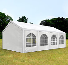 TOOLPORT 3x9m Marquee / Party Tent, PE 240 g/m²,
