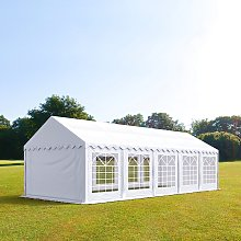 TOOLPORT 4x10m Marquee / Party Tent, PVC 500 fire