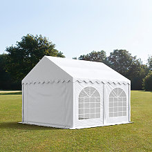 TOOLPORT 4x4m Marquee / Party Tent w. ground