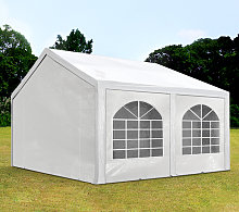 TOOLPORT 4x5m Marquee / Party Tent, PE 240 g/m²,