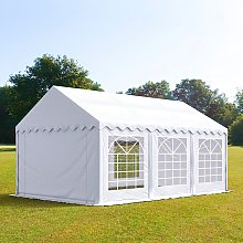 TOOLPORT 4x6m Marquee / Party Tent, PVC 500 fire