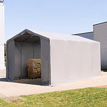 TOOLPORT 4x8m - 3.0m Sides Industrial Tent with