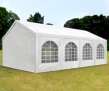 TOOLPORT 4x8m Marquee / Party Tent, PE 240 g/m²,