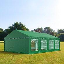 TOOLPORT 4x8m Marquee / Party Tent, PVC 500, dark