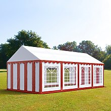 TOOLPORT 4x8m Marquee / Party Tent, PVC 500,