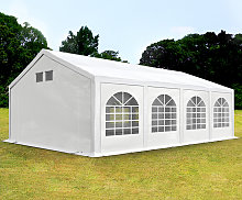 TOOLPORT 4x8m Marquee / Party Tent, w. ground