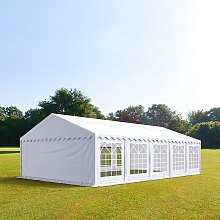 TOOLPORT 5x10m Marquee / Party Tent, PVC 500 fire