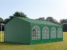 TOOLPORT 5x8m Marquee / Party Tent w. ground