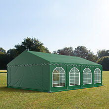 TOOLPORT 5x8m Marquee / Party Tent w. Groundbar,