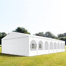 TOOLPORT 8x16m Marquee / Party Tent w. ground