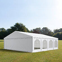 TOOLPORT 8x8m Marquee / Party Tent w. ground