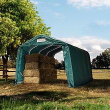 TOOLPORT Farm storage tent 3.3x4.8m, PVC 550, dark