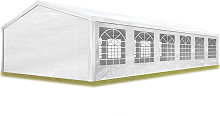 TOOLPORT Party Marquee 6x12 m in white 180 g/m²