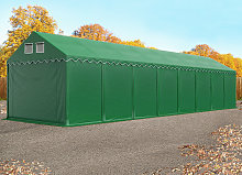 TOOLPORT XXL 4x20 m heavy duty storage tent