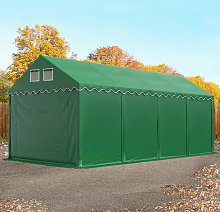 TOOLPORT XXL 4x8 m heavy duty storage tent marquee