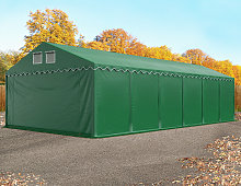 TOOLPORT XXL 6x12 m heavy duty storage tent