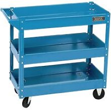 Tools Tool Trolley 3 Tier Blue - Draper