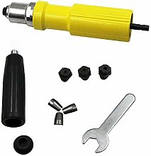 TOOLSTAR Electric Rivet, Cordless Drill Adaptor