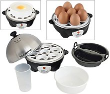 Tooltime 360w 3-in-1 Electric Egg Boiler Poacher &