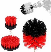 Toomett Drill Brush 360 Attachments 3Pcs/Set