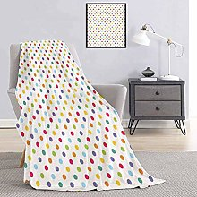 Toopeek Abstract Bedding flannel blanket Colorful