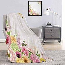 Toopeek Anemone Flower Children's blanket